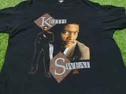 Rare Vintage Keith Sweat I Ll Give All My Love To You 1991 T Shirt Size L