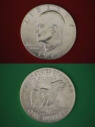 1971 S Silver Eisenhower Ike Dollar Roll 20 Coins 40 Silver Combined Shipping