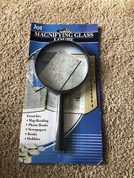 Jumbo Magnifying Glass 7 1/4 - Hand Held New Sewing Hobbies Reading Maps