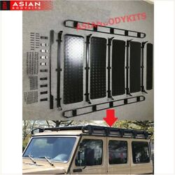 For Benz G Class W463 G500 G350 G63 Roof Rack Rail Cross Bar Luggage With Ladder