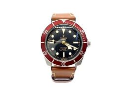Tudor Black Bay Red 41mm 79220r Eta Rose Smiley Face Discontinued, Box And Papers