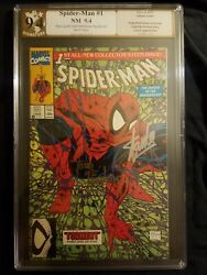 Spiderman 1 Signed By Stan Lee And Todd Mcfarlane