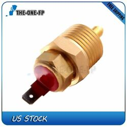 185-200 Degree Radiator Cooling Electric Fan Engine Thermostat Switch W/cap
