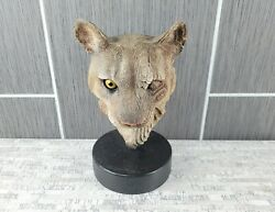 Rick Cain 1994 Limited Edition Spirit Of The Mountain Cat Cougar Sculpture