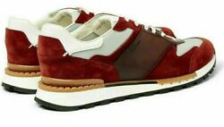 Berluti Iconic Run Track Leather Suede Shoes Loafers Shoes Slippers Sneakers 45