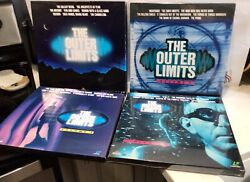 Laserdisc Outer Limits Volumes 1-2-3-4 Extended Play 2 + 4 Sealed 14 Discs