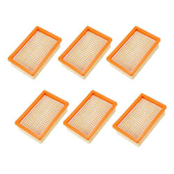 50x6-pack Filter For Karcher Mv4 Mv5 Mv6 Wd4 Wd5 Wd6 Vacuum Cleaner Replacement