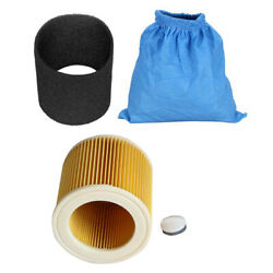 50xtextile Filter Bags Wet And Dry Foam Filter Hepa Filter For Karcher Mv1 Wd1
