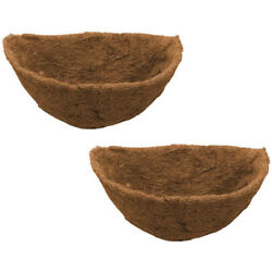 50xhalf Round Coco Liner Half Circle Wall Planter Coco Fiber Replacement Liners