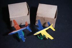 Showa Retro Made Of Plastic Miniature Fighter Points Warehouse Goods Airplane