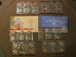 1989 1990 1991 Us Mint Uncirculated Coin Set / D And P Sets 30 Coins