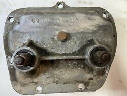 1969 Muncie 3950306 4 Speed Transmission Side Cover Correct Hd Levers And Forks