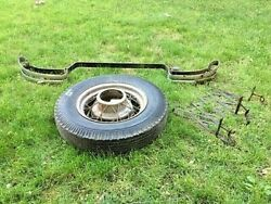 Ford Model A Wheel Packard Bumper And Expanding Luggage Rack