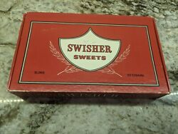 Vintage Swisher Sweets Cigar Box Empty Red Collectible