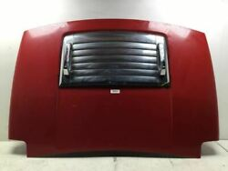 2006 07 08 09 2010 Hummer H3 Front Hood Bonnet Red W/ Air Grille Chrome Oem+