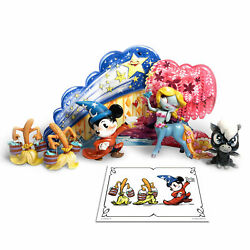 Disney Fantasia Deluxe Limited Edition Figurine Set By The World Of Miss Mindy