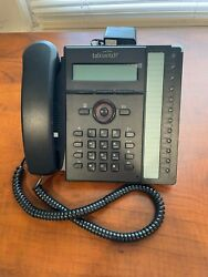 Talkswitch Ts-450i Voip Ip Phone W/ Stand Handset Cable