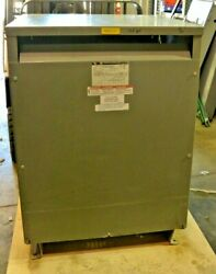 Square D 118 Kva 3 Phase Transformer 118t145hdit 460v To 460y/266v With Taps