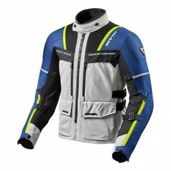 Motorcycle Jacket Touring Revand039it Revit Offtrack Silver Blue Autumn Winter Jacket