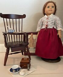 American Girl Doll Felicity Vintage Retired + School Accessories Never Used