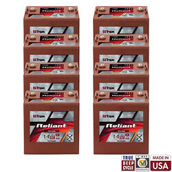 8x Trojan Reliant T875-agm 8v 160ah Deep Cycle Sealed Agm Battery Made In Usa