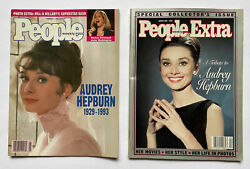 People Magazine Feb. 1 Andlsquo93 Audrey Hepburn And People Extra Winter 1993 Tribute