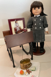 American Girl Doll Samantha Vintage Retired School Desk Accessories Never Used