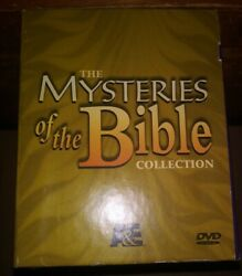 Aande Mysteries Of The Bible Collection Dvd, 2007, 7-disc Set Rare