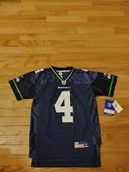 Trent Dilfer Seattle Seahawks Nfl Vintage Reebok Jersey Nwt Youth Size M 10-12