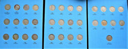 Complete Set - Liberty Head V Nickles -1883 To 1912-s, In Old Whitman Folder