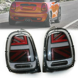 Led Tail Lights Brake Lamps Fits For 2014-18 Mini Cooper F55 F56 F57 Smokeandred