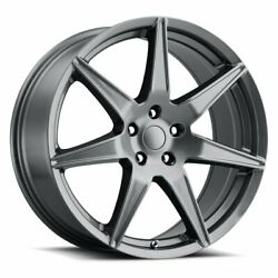 20 Inch 4 Wheel Rims For Ford Mustang 2015 20x9 Grey