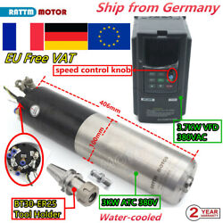「fr」3kw Bt30 Atc Milling Spindle Motor Water Cooling Automatic Tool Changer+vfd