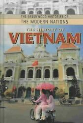 History Of Vietnam Hardcover By Corfield Justin Like New Used Free Shippi...