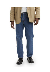Leviand039s Menand039s 550 Sits At Waist Tapered Leg W 40 L 32 Blue Jeans Nwt Ad10-7