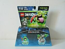 Lego Dimensions Ghostbusters Slimer And Slime Shooter Fun Pack 71241