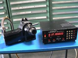 Haas S5c Ha5c Brush Rotary Indexer Plus Manual Collet Closer And Controller 14 Pin