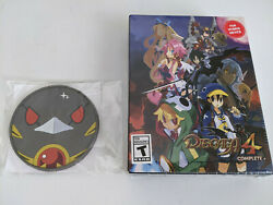 New Nintendo Switch Disgaea 4 Complete+ Hl-raising Limited Edition