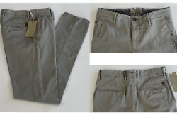 Incotex Italy Iconic Slacks Stretch Cotton Slim Fit Trousers Pants Chinos 31