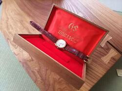 Grand Seiko 5645-7005 56gs Gold 18 Solid Gs Self-winding Menand039s Watch W/box