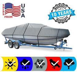 Boat Cover Fits Larson All American 190 Cuddy 1992 Fade Resistant