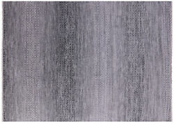 Savannah Grass Hand-knotted Wool Rug 9and039 1 X 12and039 6 - Q9233