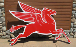 Reproduction Mobil Pegasus Cookie Cutter Sign [-gas And Oil-] Freight Shipping