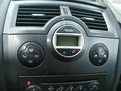 Climate Controls Renault Megane Ll S. Wagon 0608 1500 Diesel 2007 Rica...
