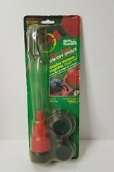 Vintage Flo Tool Canada Spill Saver Gas Can On/off Spout - 1993 - In Sealed Pack