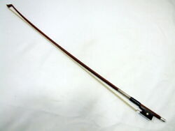 Vintage Made In Germany Johs.o.paulus 4/4 Horn Bow Finished Johannes O. Paulus