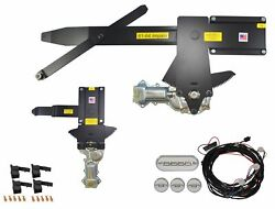 1961 Impala 2dr H-top Front And Rear Power Window Kit With Ftfg Switches For Door