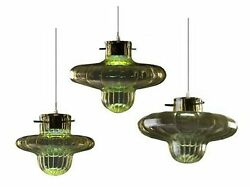 Chandelier Modern Design Glass Of Murano Classic Made In Italy 3 Lights