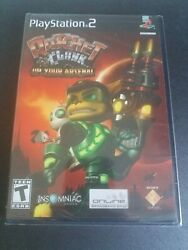 Ratchet And Clank Up Your Arsenal - Ps2 Sony Playstation 2 - Sealed Black Label