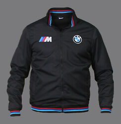 New Mens Jacket Bmw Power Bomber Racing Sport Embroidered Apparel S-3xl